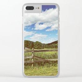 Fencing •Appalachian Trail Clear iPhone Case