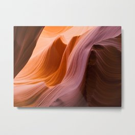 The Wave at Antelope Canyon Metal Print