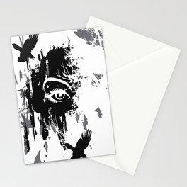 flying ravens Stationery Cards