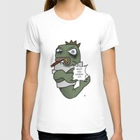 trout T-shirts featuring Thugged out Trout by Astra Halliday
