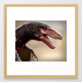 Utah Raptor Framed Art Print