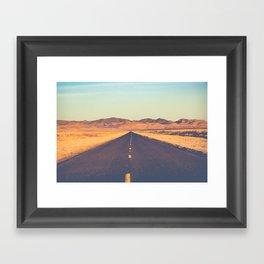 Lost Highway II Framed Art Print