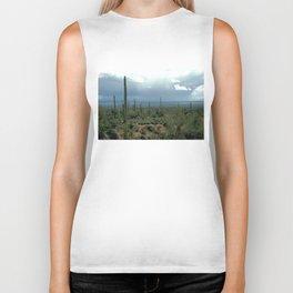 Arizona Desert and Cactuses Biker Tank