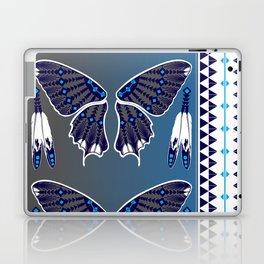 Butterfly Nation Blue Laptop & iPad Skin