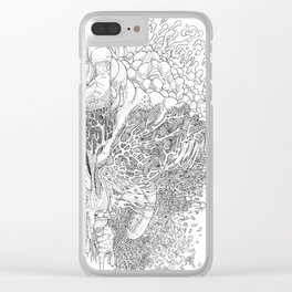 Rotting in Essence #1 Clear iPhone Case