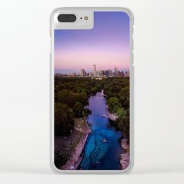 Barton Springs Clear iPhone Case