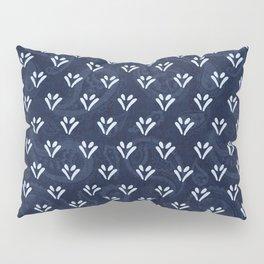 Indigo Dabu Batik 5 Pillow Sham