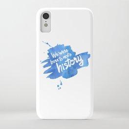 History Maker {Yuri on Ice} iPhone Case
