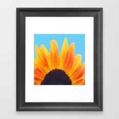 My Love Is A Flower Framed Art Print