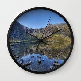 Idwal Sunrise Wall Clock