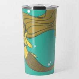 The Vinyl Mermaid Travel Mug