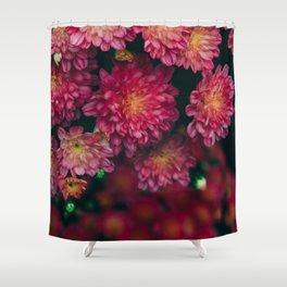 Autumn Vibes - Boho Rose Flowers Shower Curtain