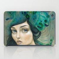 mermaid iPad Cases featuring Mermaid by Mandy Tsung