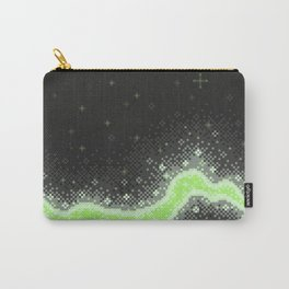 Agender Pride Flag Galaxy (Pixel Art) Carry-All Pouch