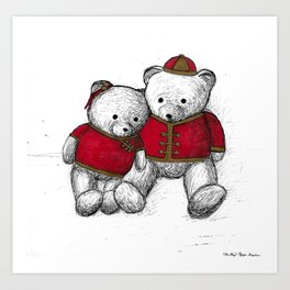 Bear: Lunar New Year Art Print