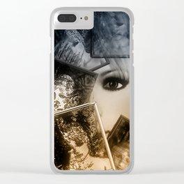 Spiegelbilder Clear iPhone Case