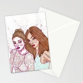 Gigi Hadid & Jourdan Dunn Maybelline NY   Stationery Cards