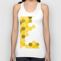 honeycomb Tank Tops featuring Honeycomb by KelC