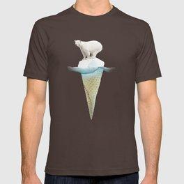 Polar ice cream cap T-shirt