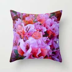 Scented Hill Throw Pillow
