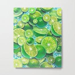 Lime Time Metal Print
