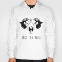 totes Hoodies featuring Totes Ma Goats by Liffy Designs