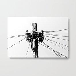 Communication Metal Print