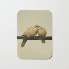 loving doves Bath Mat