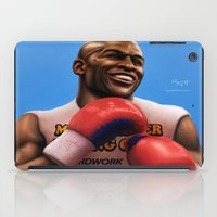 floyd iPad Cases featuring FLOYD 'Money' MAYWEATHER by MAiJiN.THE ARTIST