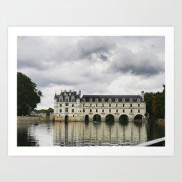 Chateau de Chenonceau Art Print