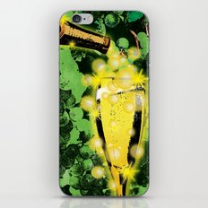 Champagne iPhone & iPod Skin