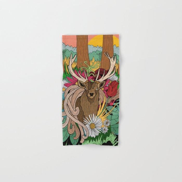 Spring Woodland Hand & Bath Towel