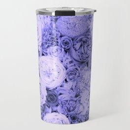 bouquet ver.blue-b Travel Mug