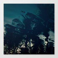 palms Canvas Prints featuring Palms by CloudedSunset