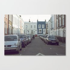 London Streets Canvas Print