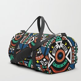 Geometric Power Duffle Bag