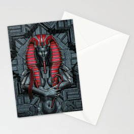 Sacred Dark Queen Stationery Cards