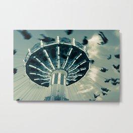 The Wave Swinger Metal Print