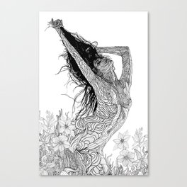 mystic transcendence Canvas Print