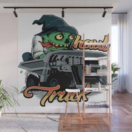 Monster Haul Truck Wall Mural