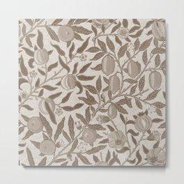"William Morris ""Fruit or Pomegranate"" 6. Metal Print"