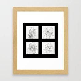 Chickens 1 Framed Art Print
