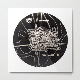 utrecht plattegrond Metal Print