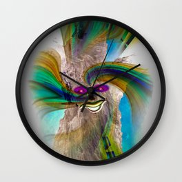 Mystical world 2 Wall Clock