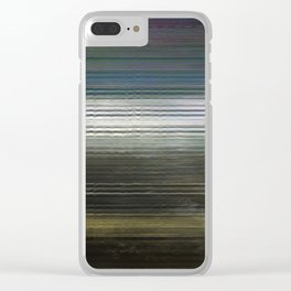 Glytch 03 Clear iPhone Case