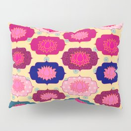 Lotus pattern Pillow Sham