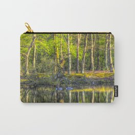 The Pond Reflections  Carry-All Pouch