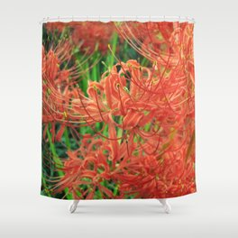 Secret Garden | Red Spider Lily Shower Curtain