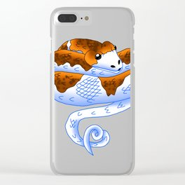 Snake Piece #25 - Champagn Cutie Clear iPhone Case