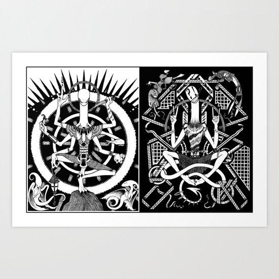 Deities Art Print